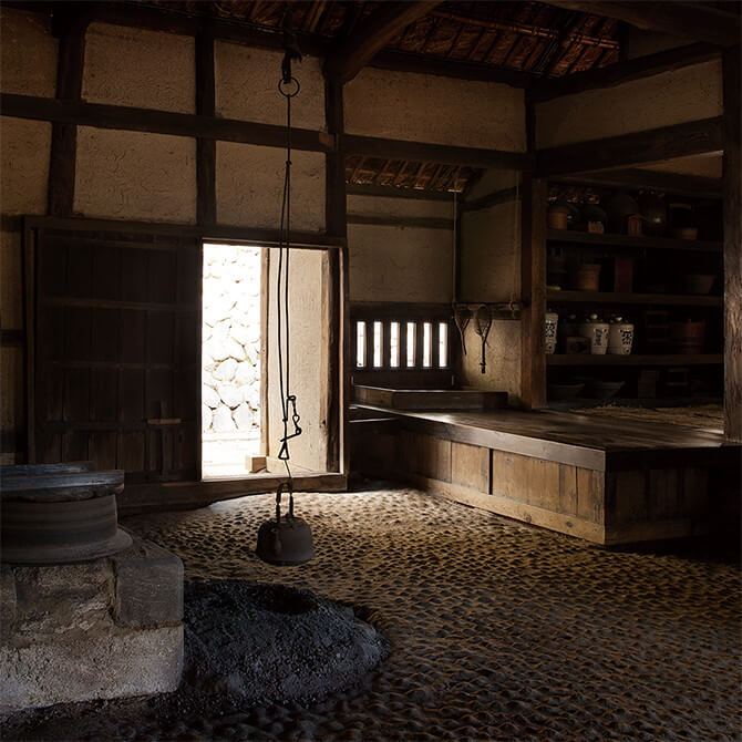 Guest bathroom of coal mining tycoon Takatori Koreyoshi's residencein Saga prefecture, built in 1905.